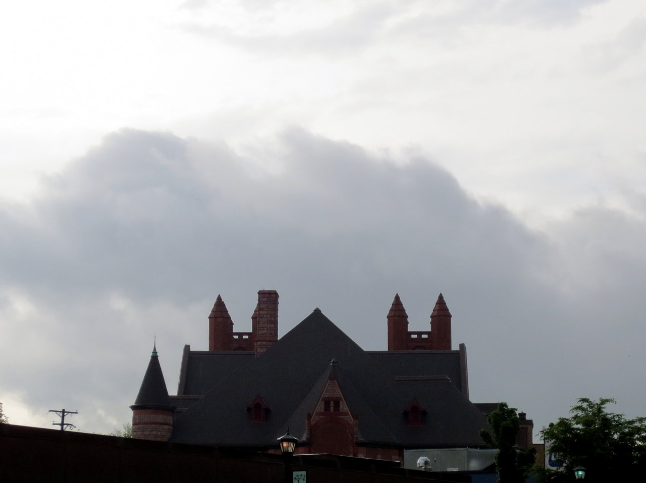 Minneapolis has its own castles in its own skies.