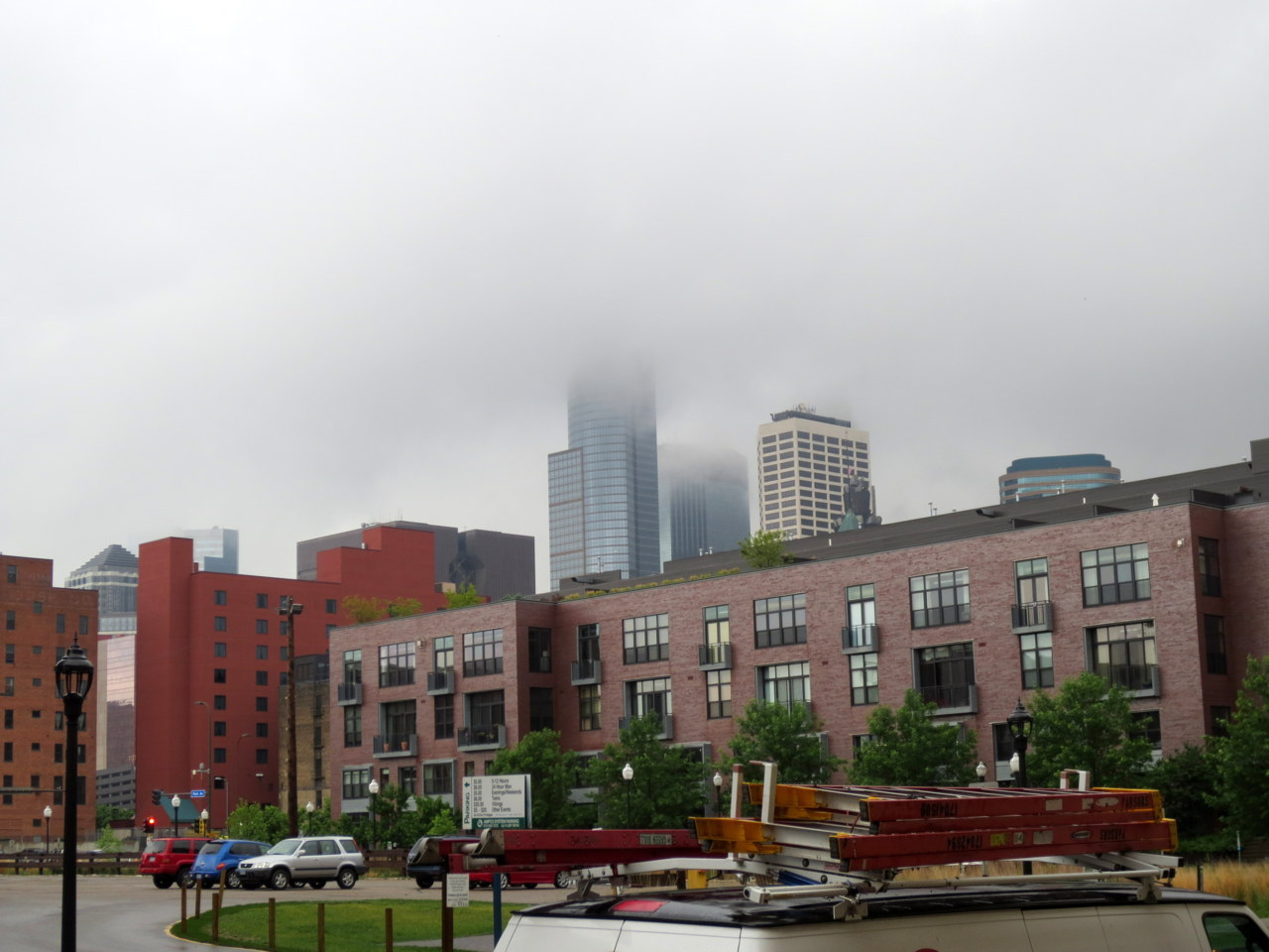 Sometimes Mill City wanders around with its head in the clouds.