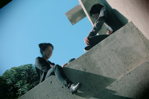 "(original photography by me) ""Ledge Kids"". 2012"