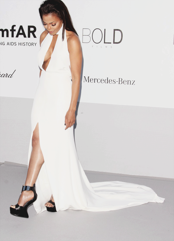 fuckyeahfamousblackgirls:  Janet Jackson at the 2012 amfAR Cinema Against AIDS Gala in Antibes, France