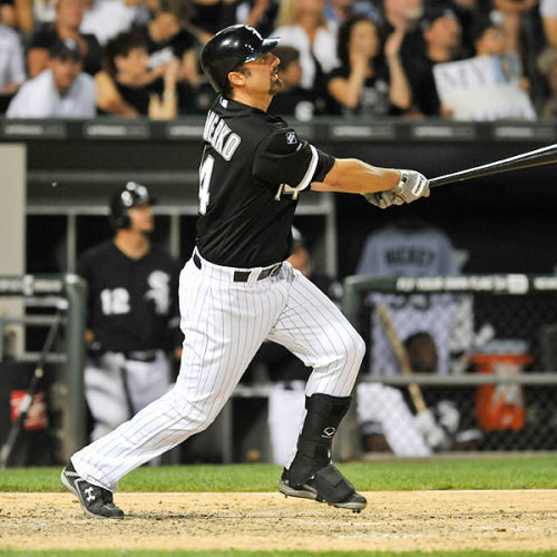"windycitysports:  ""I think he [Konerko] should be included every year in MVP consideration,"" said A.J. Pierzynski. ""He is very underrated even though he has been a great player for a long time. Unless you see him every day and see how he makes adjustments from pitch to pitch, it's really amazing. He deserves more National credit than he gets."""