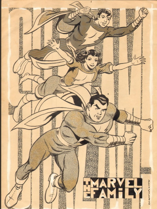 browsethestacks:  The Marvel Family by Dave Cockrum