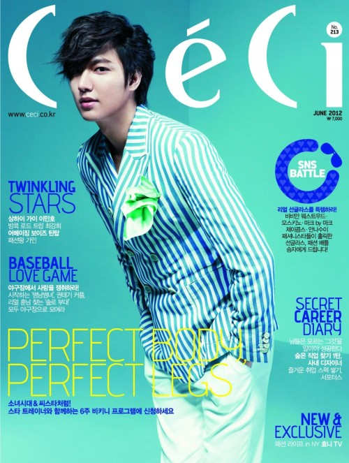 Ceci Korea Model: Lee Min Ho June 2012