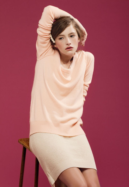 In the Pink | Fashion Gone Rogue | Model: Teresa | Photographer Saskia Wilson