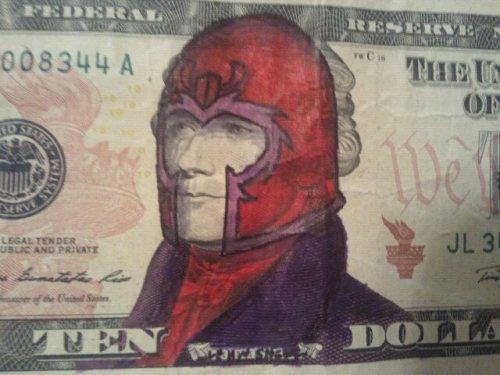 fuckyeahmagnus:   Magneto by ~Shmyah  Genosha had the best currency.