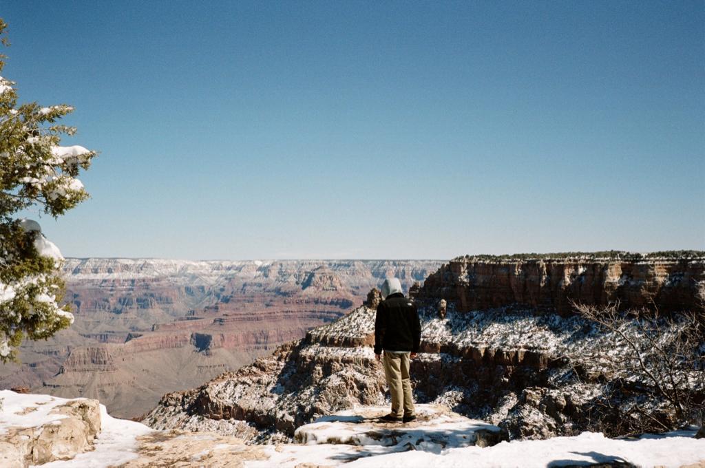 The obligatory Grand Canyon detour en route to Texas.
