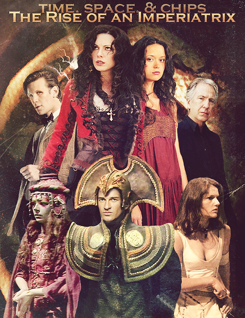 Upcoming plot: The Rise of an Imperiatrix, featuring Romana. Also includes the Doctor, Irving Braxiatel, Ohica, the Castellan, and Leela. Read the prequel here: The Rise of Pandora.