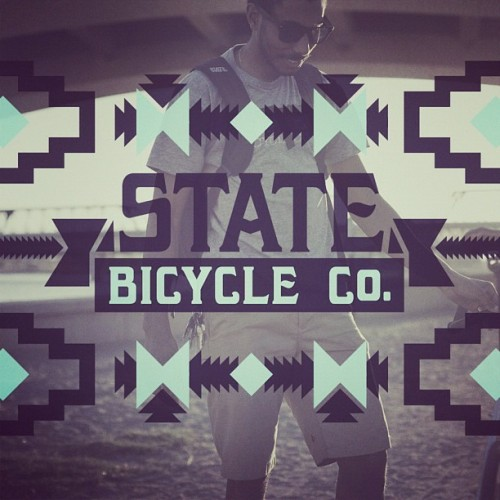 statebicycle:  @bhrd #statebicycleco Summer Vibe (Taken with instagram)  Well sheeit.