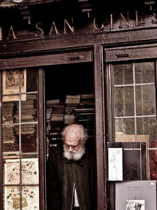 Book shop in Palacios, Madrid