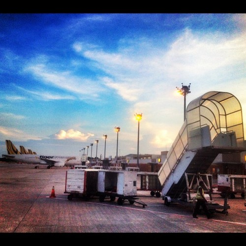 #singapore #airport #tigerairways (Taken with Instagram at Gate 2)