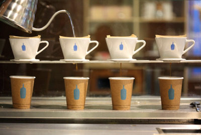 timby:  blue bottle art.