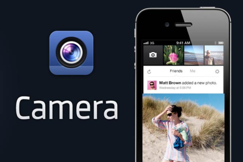 Have you downoladed Facebook Camera? We are partial to Instagram.