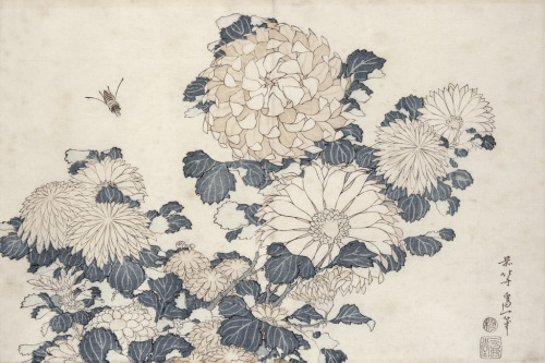 Katsushika Hokusai  back at the bone bank not enough spine to vent
