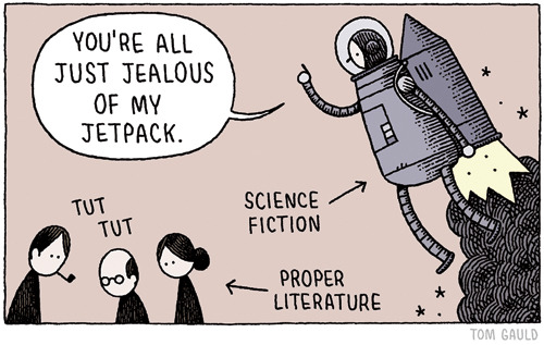 Good morning. Tom Gauld is posting his comics on Tumblr!