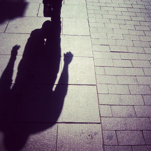 #shadows #ubiquography  (Tomada con instagram)