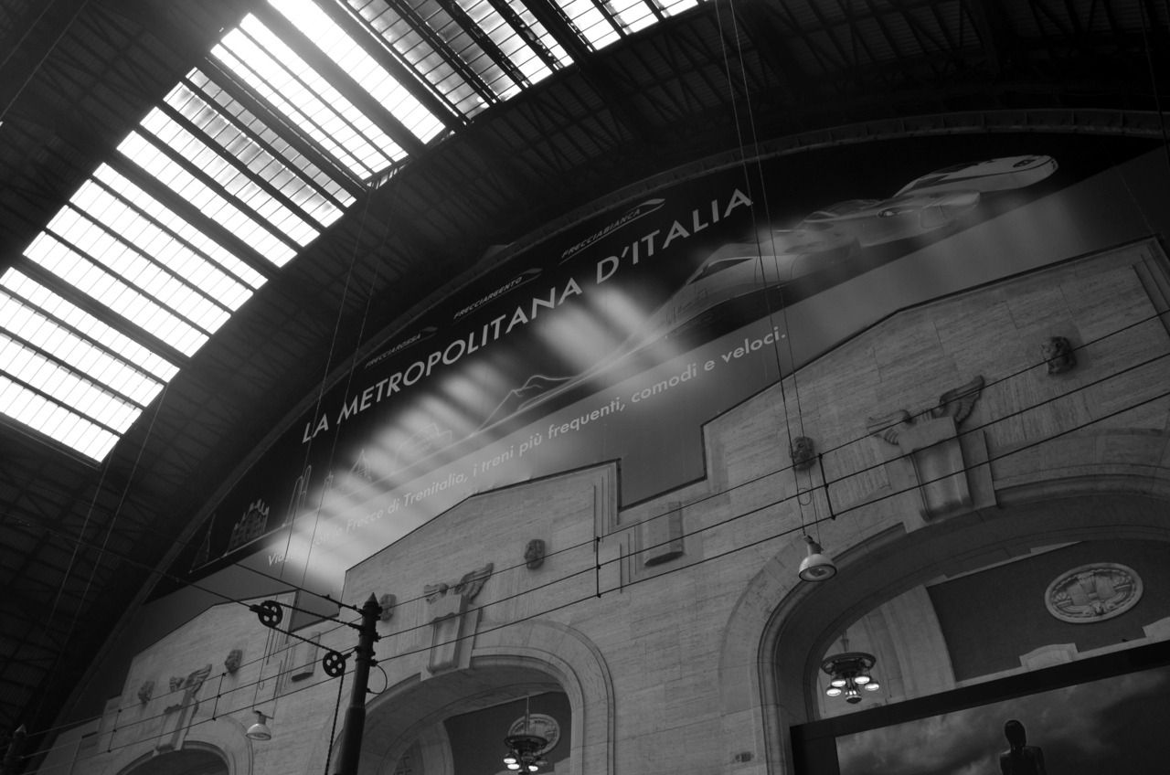 Milano Stazione Centrale  With love, from   Kristyn.