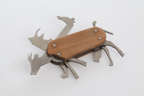 Animal Pocket Knife by David Suhami