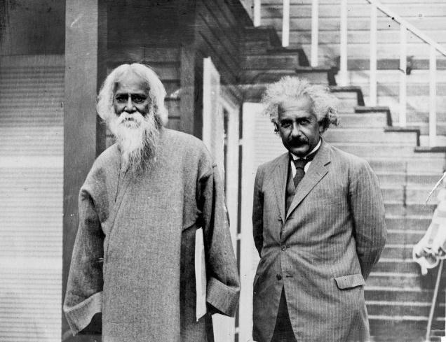 thenotebookoflittleriver:  Tagore & Einstein by Daudpota on Flickr.