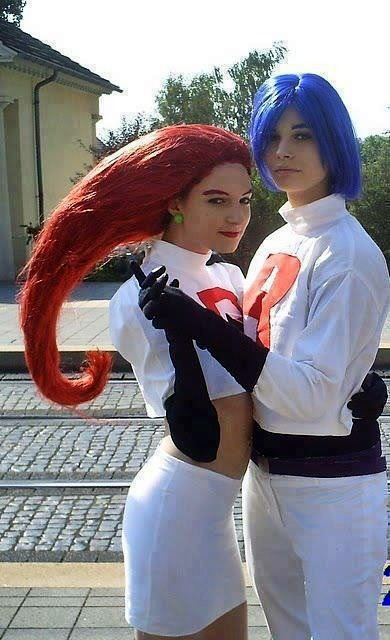 Jessy and James! The Team Rocket.