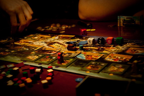 "GUEST REVIEW: SANTIAGO DE CUBA Santiago de Cuba is a game from the Designer of Cuba and Havana.  It shares a ""universe"" if you will, as well as characters and art with those games.  Santiago de Cuba presents a lighter adventure with similar themes, but different mechanics.  Let's go to Cuba and see if we can't get ourselves some cigars and visit a few old friends. Continue Reading on cartrunk.net…"
