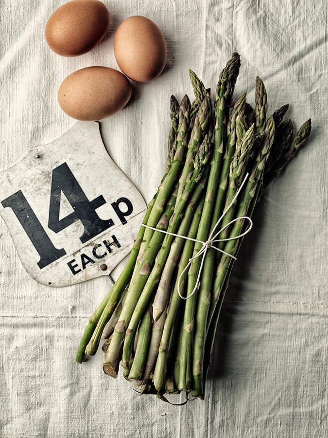 Asparaguses and Eggs