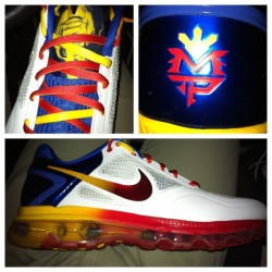 Nike Air Trainer 1.3 Max Breathe 'Manny Pacquiao' #todayskicks #whatiworetoday #wdywt #sneakerhead (Taken with instagram)
