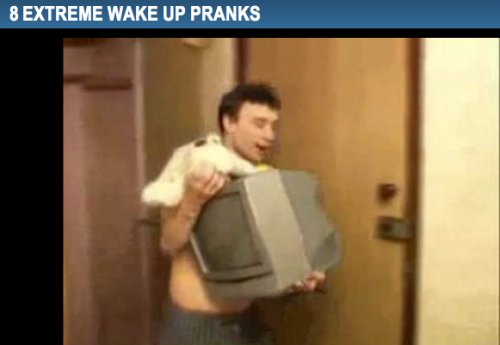 8 Extreme Wake Up Pranks in case your friend fell asleep during the All-Nighter
