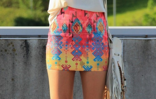 Collecting pretty skirts. I need this one.