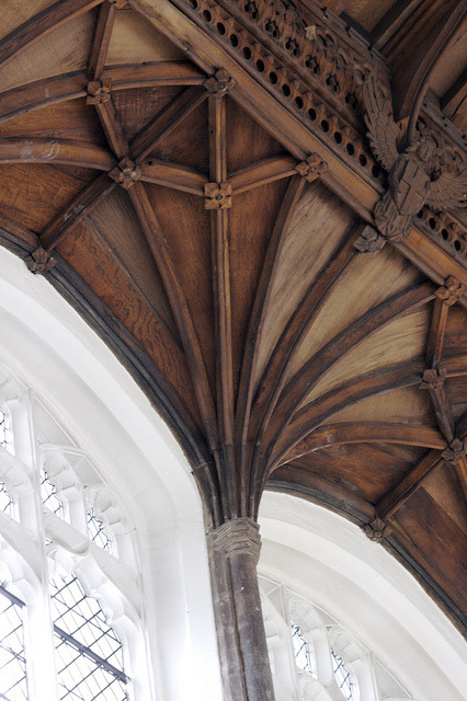 valscrapbook:  103/365 | Fan Vaulting | St Peter Mancroft by rosberond on Flickr.