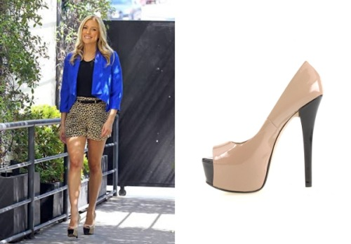 Kristen Cavallari is a fan of the Triple Major heels by Chinese Laundry