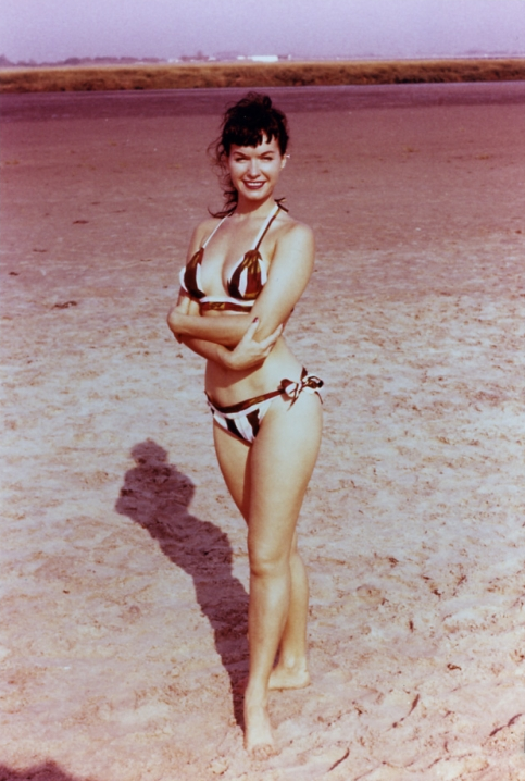 vintalgia:   Bettie Page, 1950s