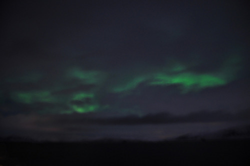 My First Blurry Aurora II on Flickr. This photo was taken on February 11, 2011 in Norway - sailed to Norwegian Sea.