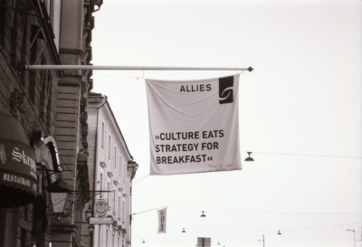 just-a-wonderfool:  Culture?, Stockholm, May 2012   Just brilliant. How could I have not re-blogged this one.