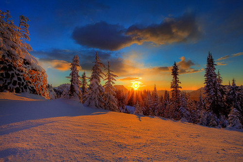 Above The Storm On Mount Rainier by kevin mcneal