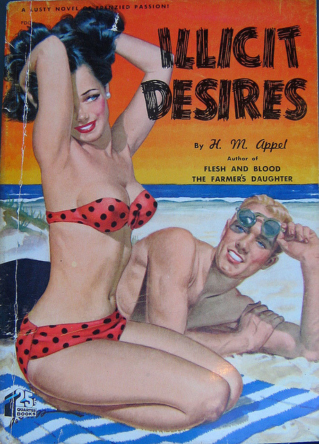 Illicit Desires - Quarter Books - No54 - 1949 - H. M Appel AKA William Arnold. by MICKSIDGE on Flickr.