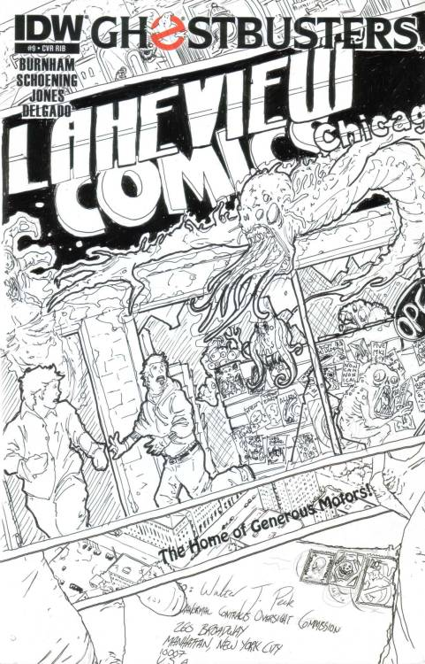 #6: Graham Crackers Comics, Lakeview, Illinois.