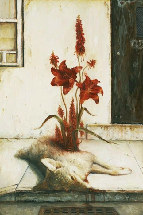 ghostribbons:  galakospeculoos: Martin Wittfooth, Red Soil