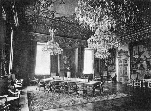 archimaps:  Inside the Konseljsalen (Council Room) of the Royal Castle, Stockholm