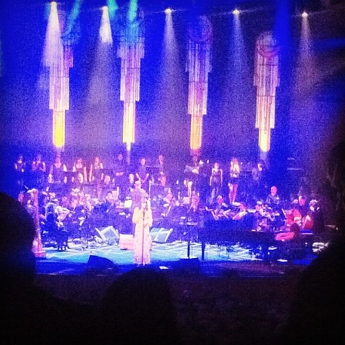 #florenceandthemachine @ the opera house with a full orchestra. Holy wow  (Taken with instagram)
