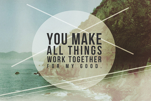"spiritualinspiration:  ""We know that in all things God works for the good of those who love him, who have been called according to his purpose"" (Romans 8:28, NIV) No matter what you may be facing, no matter what trial you may be going through, God has a plan to turn things around in your favor. He is working behind the scenes, and He is working for your good! Are you a believer in Jesus? Do you love Him? Then you are called according to His purposes. Right now, He is orchestrating the right people to come across your path. Right now, He is orchestrating the right opportunities to open up to you. Right now, He is arranging things in your favor. You may not see it in the natural, but look with your eyes of faith today. Show your love for the Father by obeying His Word. Come before Him with an open and humble heart and trust that He is guiding you. Keep standing. Keep believing. Keep hoping. Keep declaring His Word and meditating on His goodness, knowing that He rewards the people who seek after Him!"
