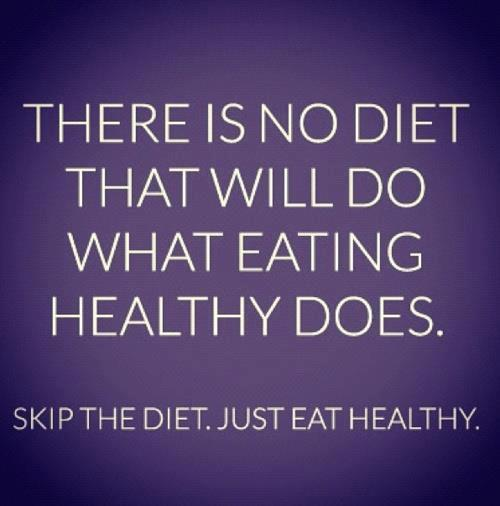 muffintop-less:  #TRUTH I get asked every day what I think of this diet or that diet… the truth is I don't believe in something that limits you when it comes to healthy food. Focus on making HEALTHY choices that are good for your body.