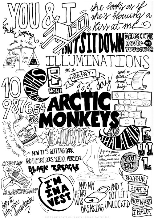 arcticmonkeysus:   a proper goodbye to Suck It And See era  WHOA