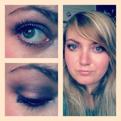 #makeup #me #eyes #face #personal #instagram  (Pris avec instagram)