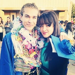 Another graduation photo. This one is with Tiff (@myohmytong on Twitter, @houseoftong on Instagram). Thanks for sharing, Tiff!