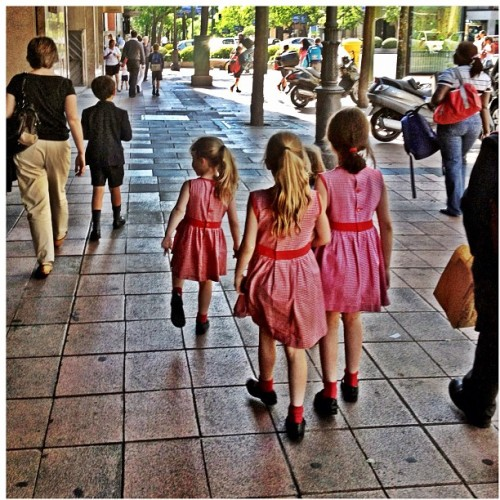 We are family. #madrid #kids #clothes #fashion #Spain #photooftheday #instaphoto  (Taken with Instagram at Calle José Ortega y Gasset)