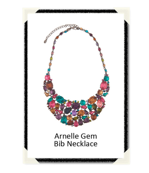 Happy #FashionFriday, Trendistas! For a chance to win this lovely Arnelle Gem Bib Necklace head over to our facebook page and like this photo!