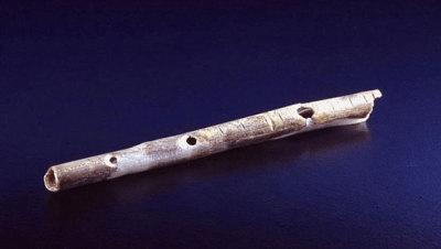 mothernaturenetwork:  Cavemen's musical instruments date back 40,000 yearsThe instruments, along with other signs of artistic creativity, date back to 42,000 to 43,000 years ago, during the upper Paleolithic period.