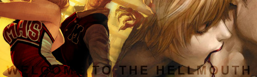Banner for Lima Hellmouth, a glee/buffy rp… so many rps lately