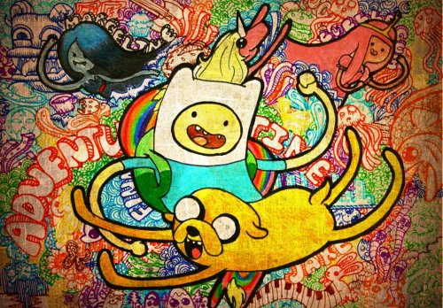 rainbowcolored-ehljhee:  Every time I watch an Adventure Time episode, I feel as though I'm a kid again and that someday, someday, I will have awesome adventures like Finn and Jake have.