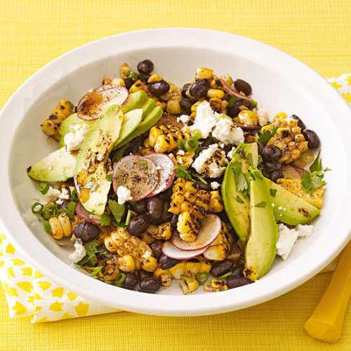 Daily Bite: Grilled Corn & Black Bean Salad